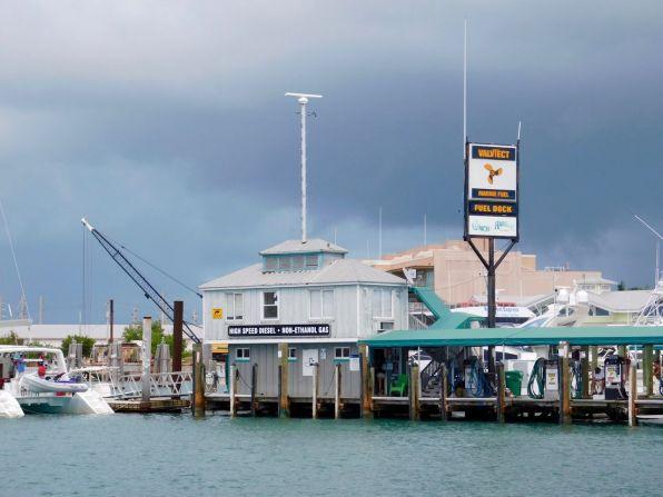 Port de Key West, dans les îles Keys de Floride.