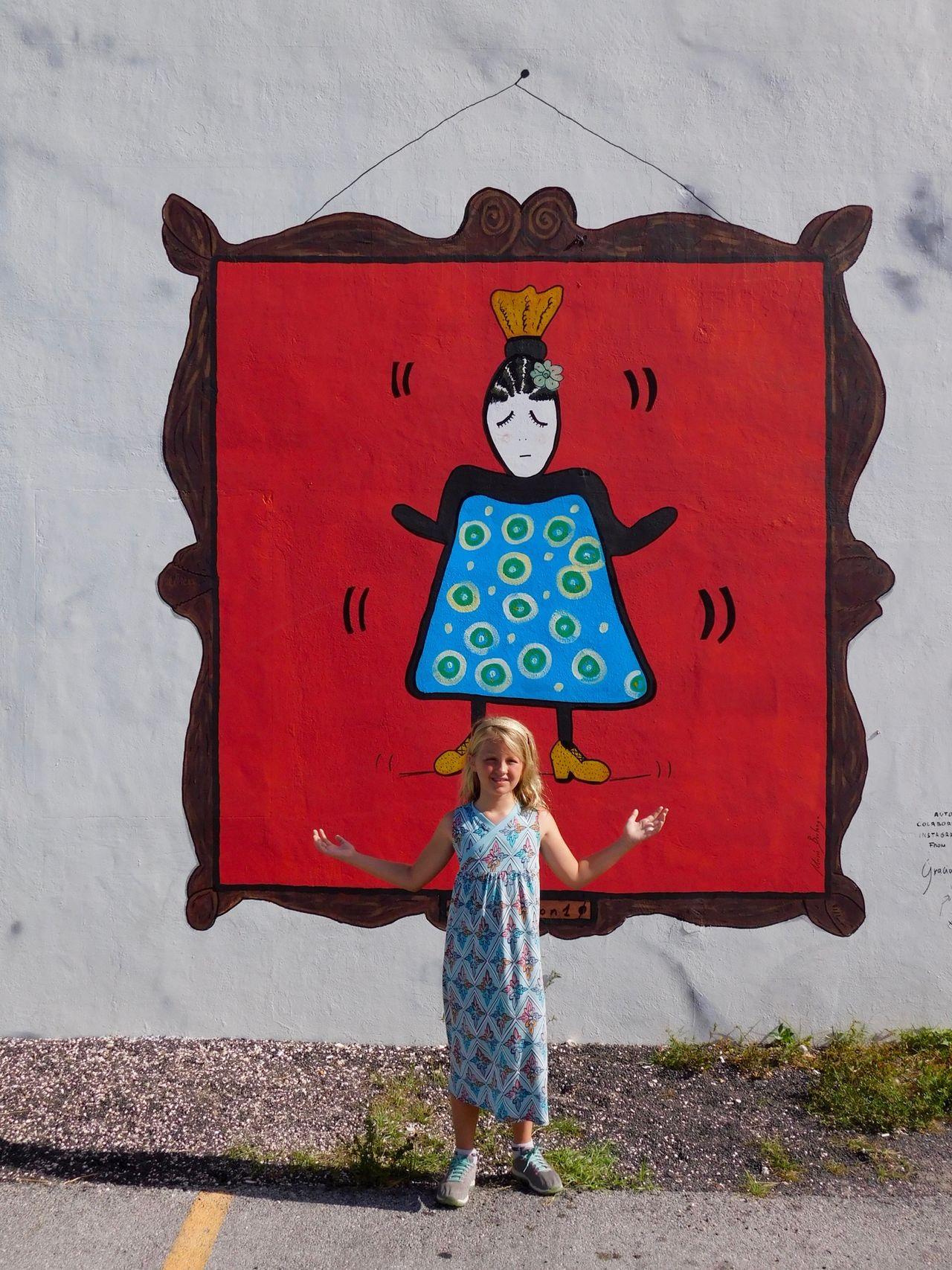 Peintures murales au Wynwood Art District de Miami.