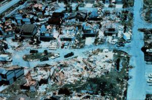 Ouragan Andrew 1992 - Miami Dade - Floride