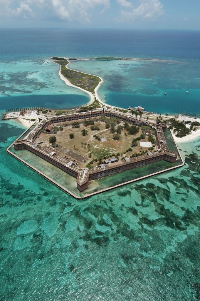 Fort Jefferson au Dry Tortugas National Park, dans les Keys de Floride