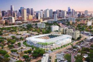 Le projet de stade de David Beckham à Miami