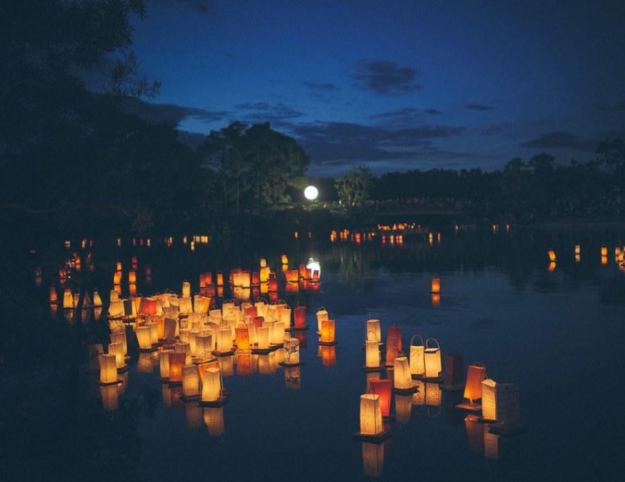 Delray Beach :Festival des Lanternes au Morikami Museum
