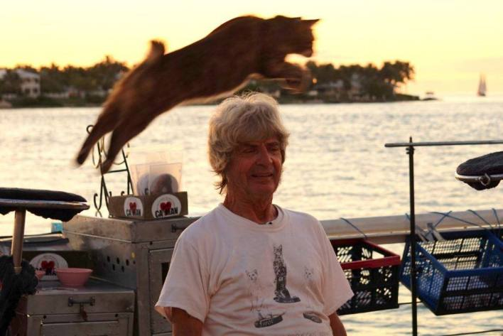 Demonique Lefort, le Cat Man français de Key West