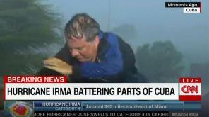 Journaliste durant l'ouragan Irma en Floride