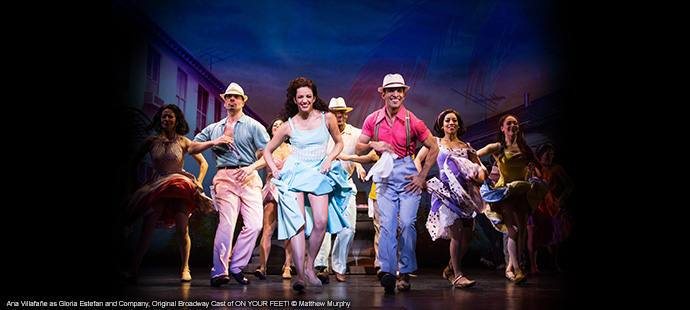 Comédie musicale on your feet à Miami
