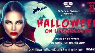 Photo of Halloween «French & Famous» à Miami Beach (au club «Mr Jones»)