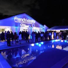 Soirée d'ouverture des French Weeks Miami 2017.