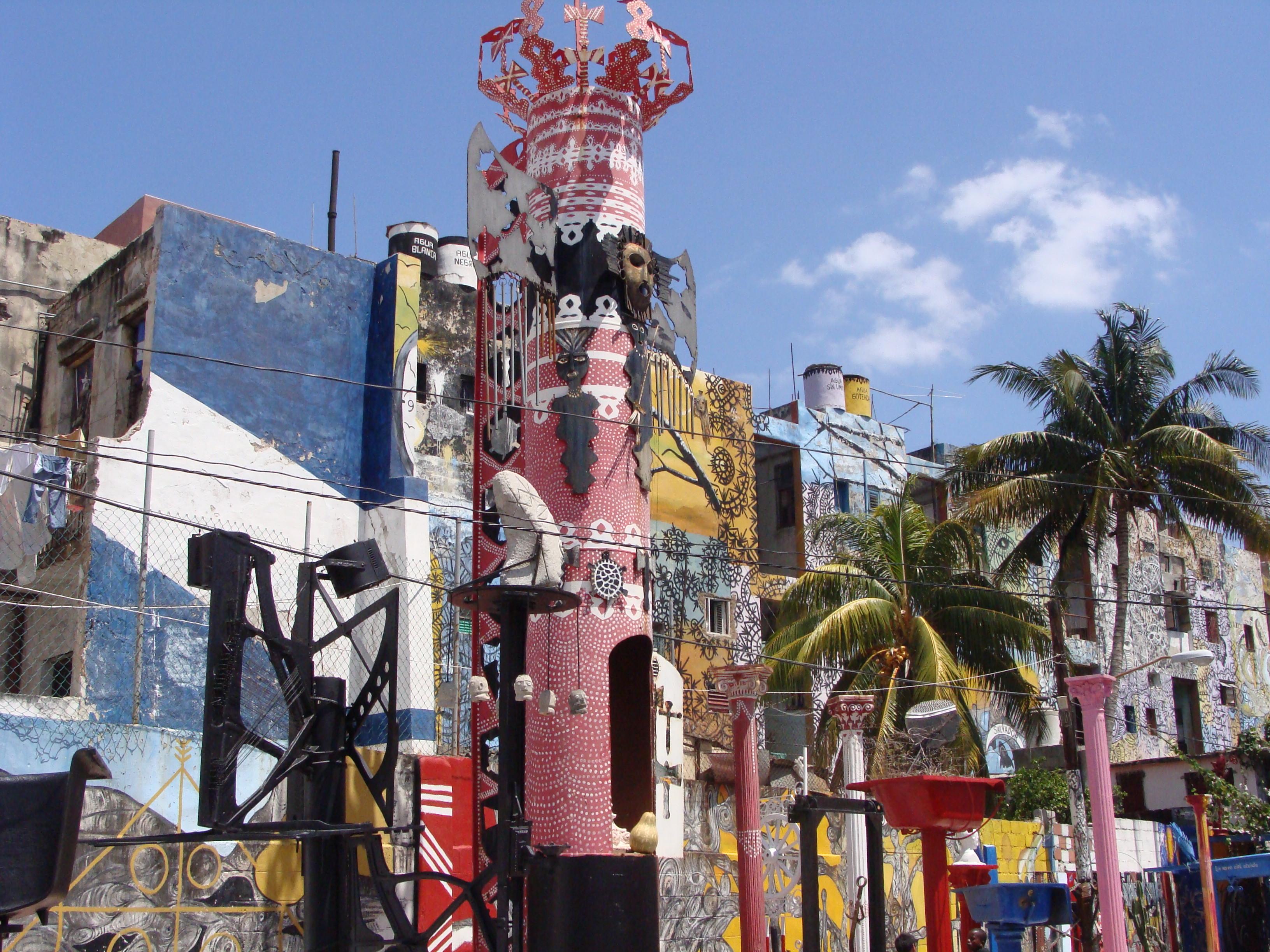 Callejon de Hamel - La Havane - Cuba