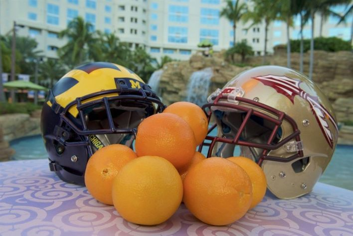 Orange Bowl 2017 au Hard Rock Stadium de Sunrise-Miami
