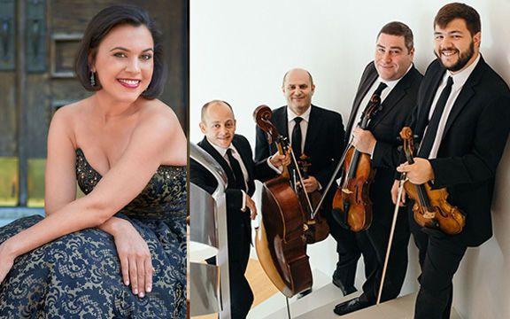 Amernet String Quartet et en invité spécial la mezzo-soprano Rachel Calloway