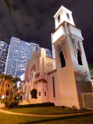 Eglise dans le centre de Miami