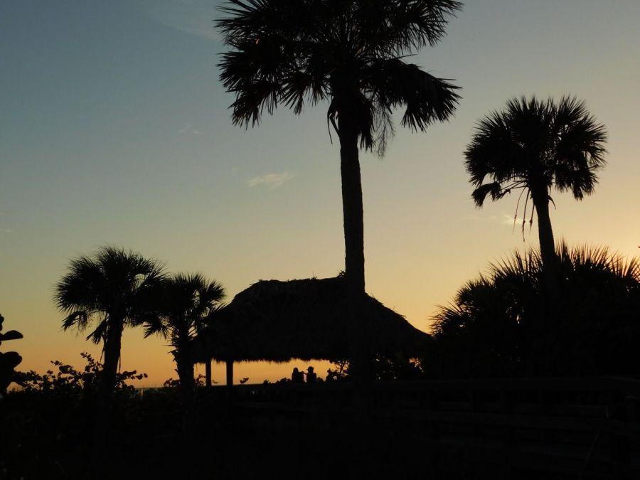 Coucher de soleil sur Sanibel Island