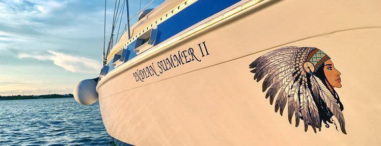 Le bateau Indian Summer II de Capitaine Jennifer Maclean à Key Largo