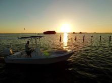 Pineland, village de pêcheurs sur l'île de Pine Island (près de Fort Myers en Floride)