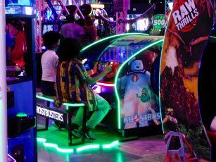 Jeux vidéos au Xtreme Action Park de Fort Lauderdale