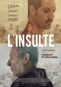 Film L'insulte sortie américaine
