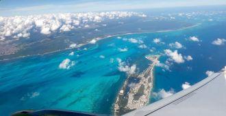 Vue aérienne de Cancun auM exique
