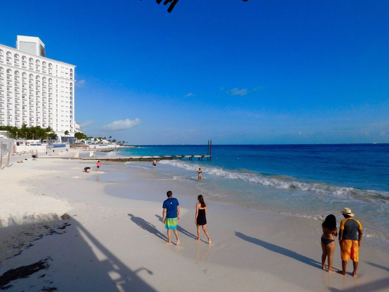 Plage à Cancun Mexique
