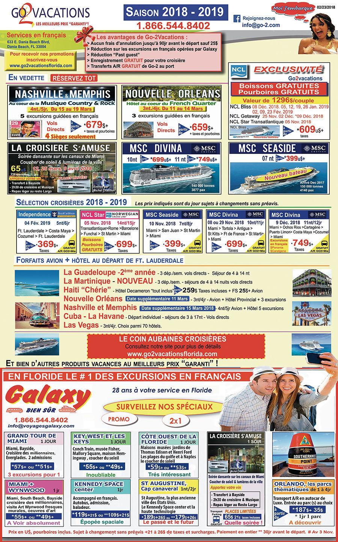 Go 2 Vacations : votre agence de voyage en Floride !