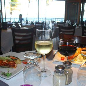 Restaurant français Le Sugar Reef sur le broadwalk de Hollywood Floride.