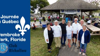 Photo of Journée du Québec du Club Richelieu à Pembroke Park (Floride) en mars