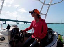 Captain Samantha Zeher organise des éco-tours au départ d'Islamorada, dans les Keys de Floride