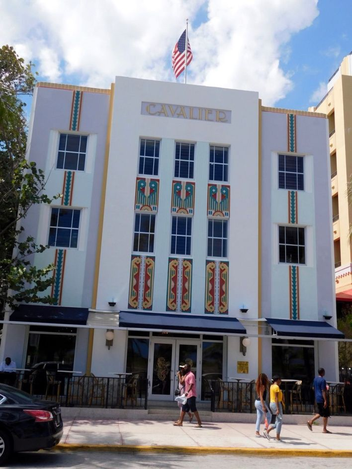 The Cavalier Hotel, hôtel art déco sur Ocean Drive à South Beach / Miami Beach