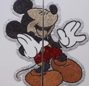 Mickey par l'artiste MPM