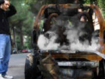 Incendie de voiture