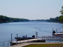 La Caloosahatchee River à La Belle, en Floride