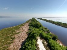 Lac Okeechobee à Lake Port (en Floride)