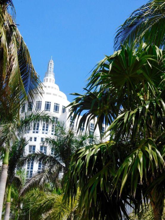 Loews Hotel, hôtel art déco sur Ocean Drive à South Beach / Miami Beach