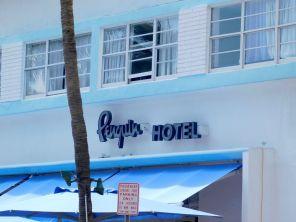 Penguin Motel (hôtel art déco) à South Beach / Miami Beach
