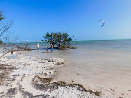 Plage de Anne's Beach sur Islamorada dans l'archipel des Keys de Floride