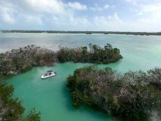 Shell Key, près d'Islamorada dans l'archipel des Keys de Floride