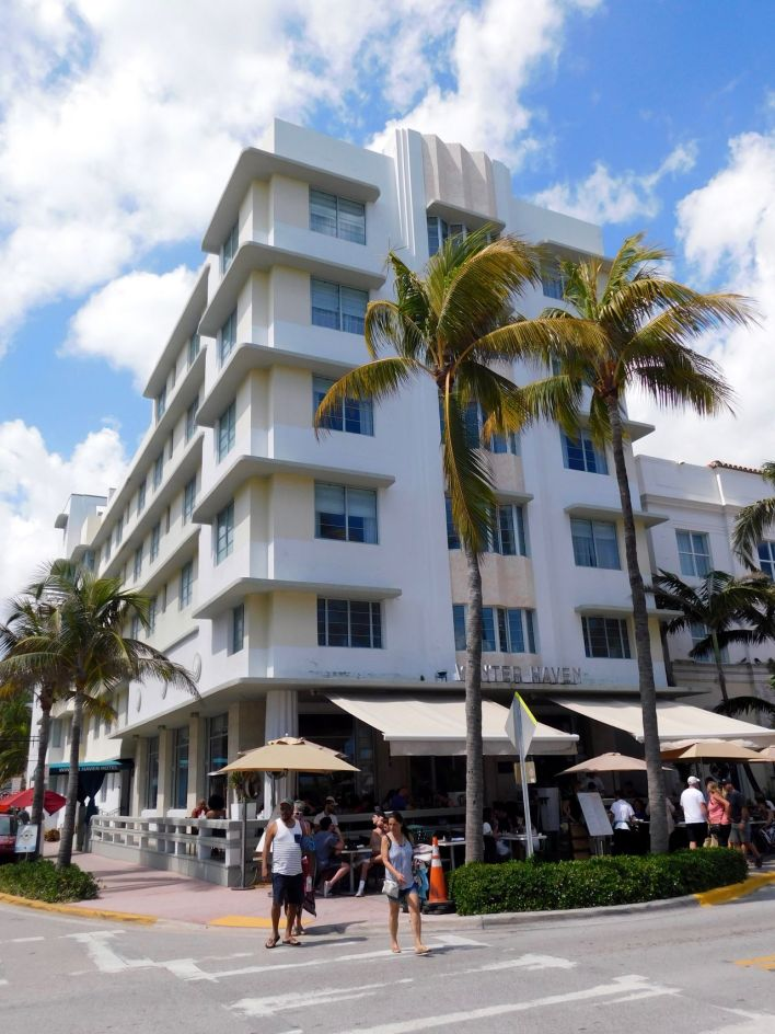 Winter Haven, hôtel art déco sur Ocean Drive à South Beach / Miami Beach
