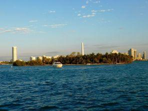 Ile déserte à côté de Miami Beach