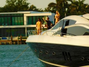 Durant Spring Breajk C'est un eu chaud sur les îles de Miami Beach....