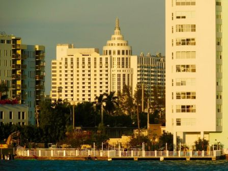 Miami Beach au coucher du soleil