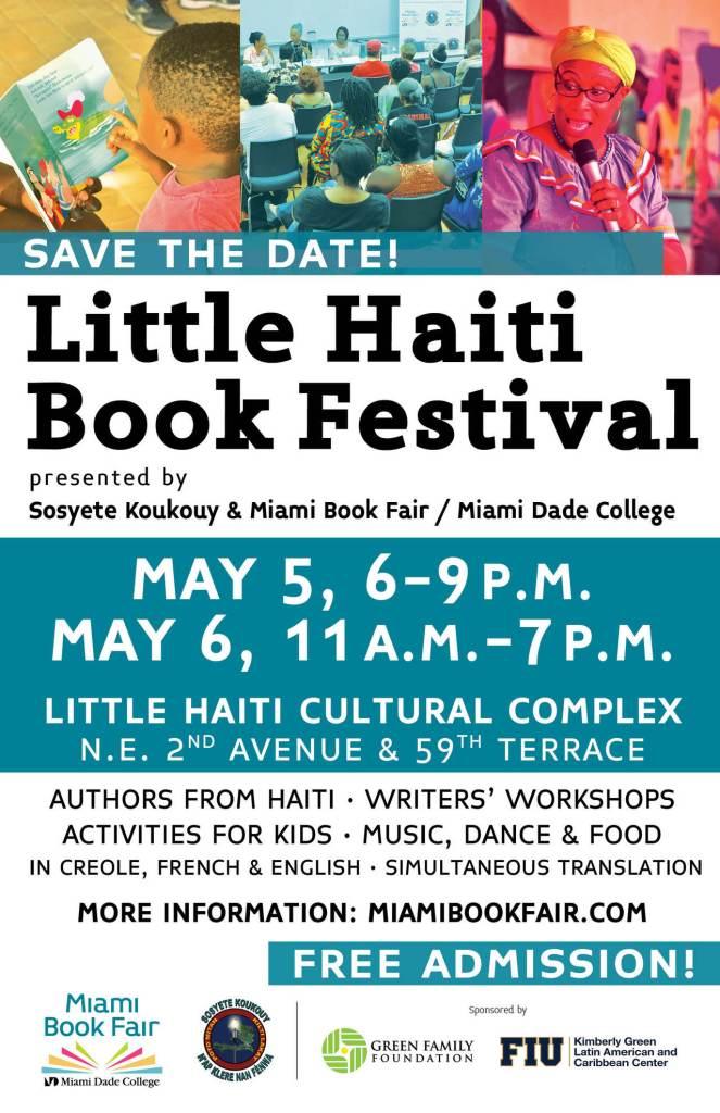 Festival du livre de Little Haïti 2018 à Miami