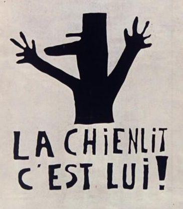 Affiche de mai 1968 à Paris