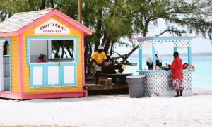 Bahamas Exumas - Stocking Island - Chat-N-Chill-Conch-Bar