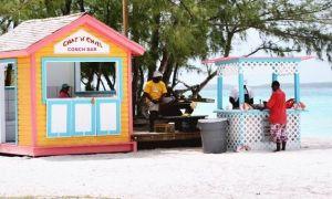 Bahamas Exumas - Stocking Island - Chat-N-Chill-Conch-Bar