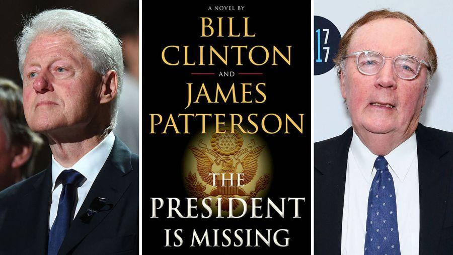 Bill Clinton et James Patterson à Fort Lauderdale