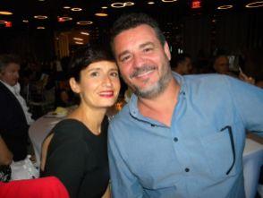 Erwan Robillard et Madame au gala 2018 de la FACC Miami