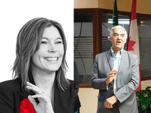 Marie Claude Péthel et Marcel Racicot, chambre de commerce Québec Floride (CCQF Canada)