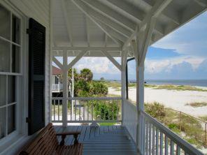 La plage du vieux phare (State Park) de Boca Grande, sur Gasparilla Island, sur la côte ouest de la Floride