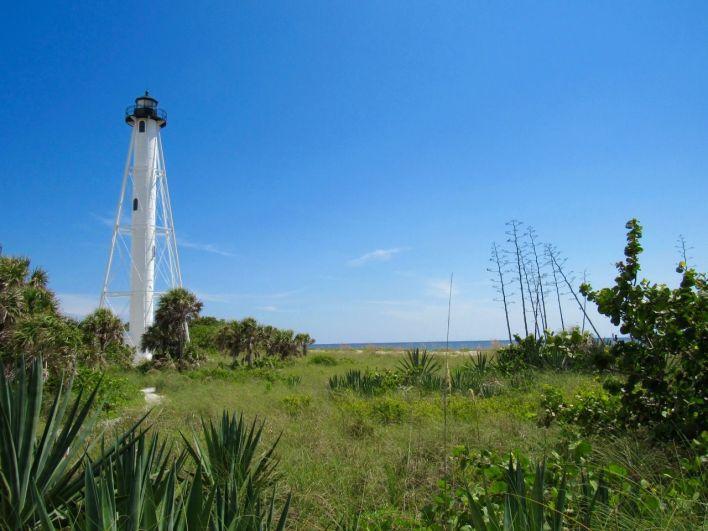 Plage du phare de Boca Grande, sur Gasparilla Island, sur la côte ouest de la Floride