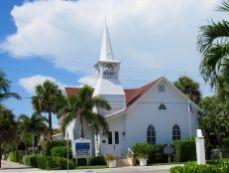 Eglise à Boca Grande, sur Gasparilla Island, sur la côte ouest de la Floride