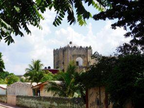 Eglise San Antonio de Padua, à Chemax au Mexique.